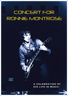 Concert for Ronnie Montrose DVD image and link