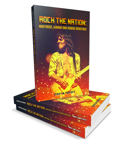 cover of rock the nation book by Martin Popoff